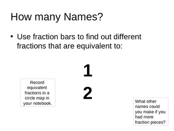 Equivalent Fractions Power Point