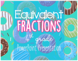 Equivalent Fractions PowerPoint (EDITABLE)
