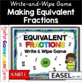 Equivalent Fractions Powerpoint Game Distance Learning