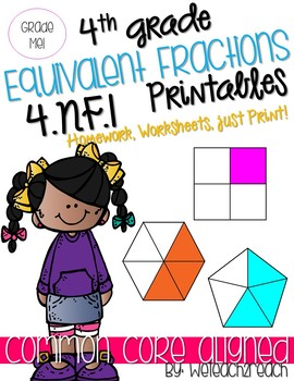 Equivalent Fractions Printables
