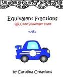 Equivalent Fractions QR Code Scavenger Hunt - 4.NF.1