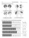 Equivalent Fractions Quiz - B&W