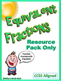 Equivalent Fractions (Resource Pack Only)