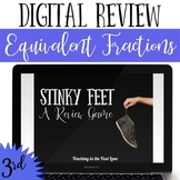 Distance Learning Equivalent Fractions Review Game Stinky Feet