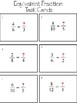 Equivalent Fractions Task Cards & Scoot Game