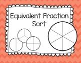 Equivalent Fractions Sort
