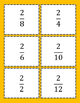 Equivalent Fractions Spoon Game