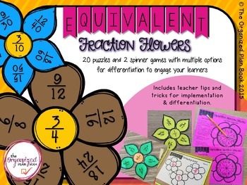 Equivalent Fractions - Spring Center Games