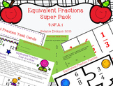 Equivalent Fractions Super Pack Preview FREEBIE