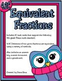 Equivalent Fractions (TEKS 4.3C) STAAR Practice