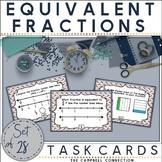 Equivalent Fractions Worksheets Task Cards