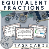 Equivalent Fractions Activities Task Cards