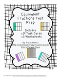 Equivalent Fractions Test Prep