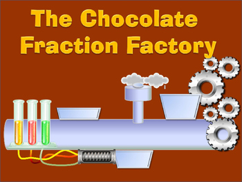 Equivalent Fractions - The Chocolate Fraction Factory