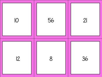 Equivalent Fractions Timber Blocks (Jenga Based OR Board Based Games