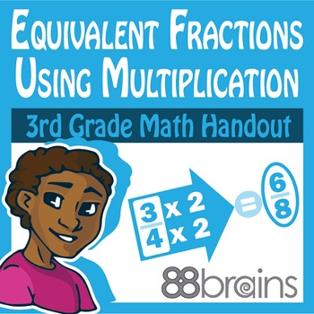 Equivalent Fractions pgs. 17 - 18 (Common Core)