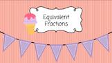 Google Slides Equivalent Fraction Models: Interactive Practice