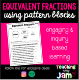 Equivalent Fractions Using Pattern Blocks
