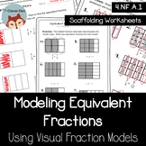 Equivalent Fractions Using Visual Fraction Models (4.NF.1)