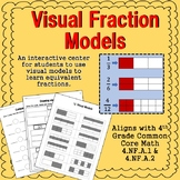 Equivalent Fractions Visual Model Center