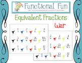 Equivalent Fractions War