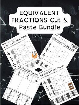 Equivalent Fractions Cut & Paste Worksheet