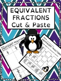 Equivalent Fractions Cut & Paste Worksheet