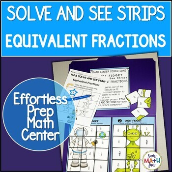 Equivalent Fractions || Worksheets-Activities || Distance Learning || 4th Grade