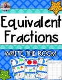 Equivalent Fractions Activity: Write the Room!