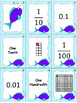 Equivalent Fractions and Decimals (Tenths and Hundredths) - Bonus in Spanish