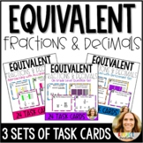 Equivalent Fractions and Decimals with Tenths and Hundredt