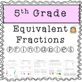 Equivalent Fractions and Simplifying Fractions