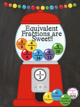 Equivalent Fractions are Sweet!