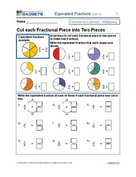 Equivalent Fractions - explored