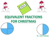 Equivalent Fractions for Christmas