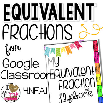 Equivalent Fractions for Google Classroom