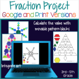 Equivalent Fractions for Google Classroom   Distance Learning