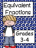 Equivalent Fractions for Grades 3 and 4