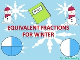 Equivalent Fractions for Winter