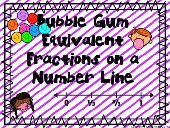 Equivalent Fractions on a Number Line