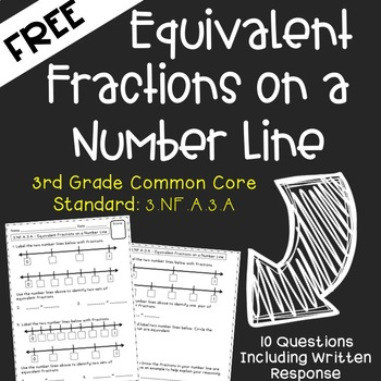 Free Equivalent Fractions on a Number Line