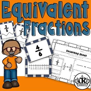 Fraction Puzzles: Equivalent Fractions on a Number Line