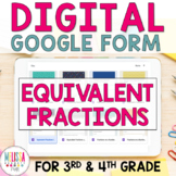 Equivalent Fractions using Number Lines Google Form