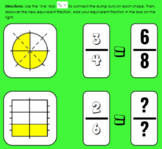 Equivalent Fractions with Visual Models