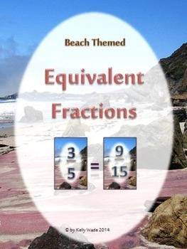 Equivalent Fractions with a Beach Theme