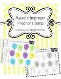 Equivalent Mixed and Improper Fractions SOL 3.2 Bump