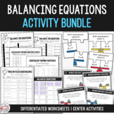 Balance the Equation - Equivalent Number Sentence Bundle