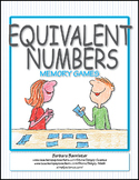 Equivalent Numbers Memory Game