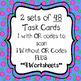 Fractions - Equivalent, Ordering, & Comparing Task Cards & Worksheets