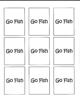 Equivalent Ratio Go Fish